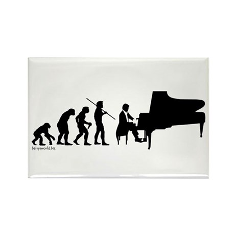 Piano Evolution Rectangle Magnet (10 pack)
