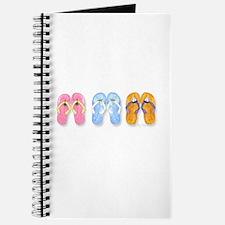 3 Pairs of Flip-Flops Journal