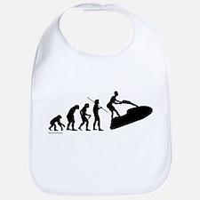 Jet Ski Evolution Bib