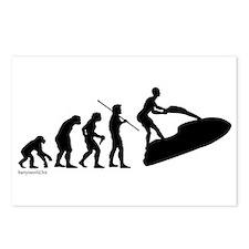 Jet Ski Evolution Postcards (Package of 8)