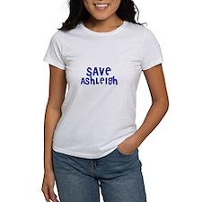Save Ashleigh Tee