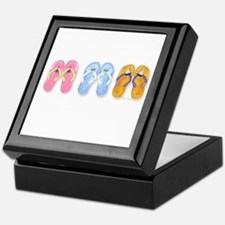 3 Pairs of Flip-Flops Keepsake Box