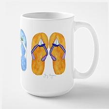3 Pairs of Flip-Flops Mug