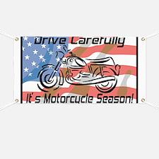 Motorcycle Season Banner