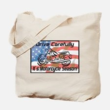 Motorcycle Season Tote Bag
