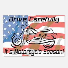 Motorcycle Season Postcards (Package of 8)