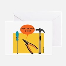 Tools Greeting Card