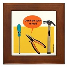 Tools Framed Tile