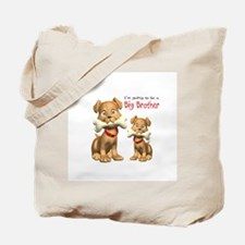 Dogs Big Brother Tote Bag
