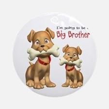 Dogs Big Brother Ornament (Round)