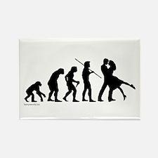 Dance Evolution Rectangle Magnet (10 pack)