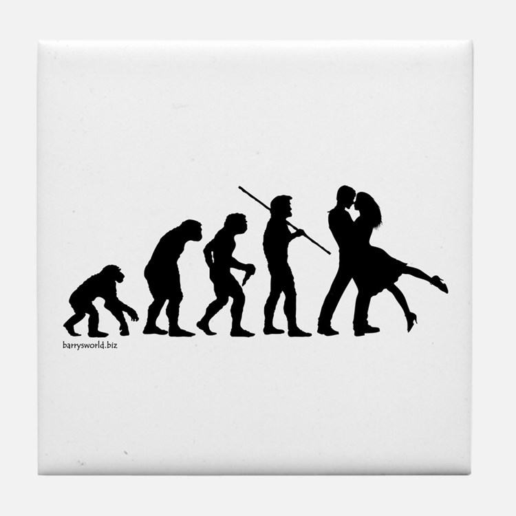 Dance Evolution Tile Coaster