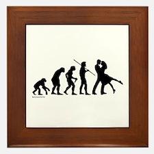 Dance Evolution Framed Tile