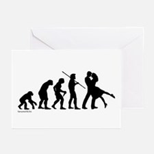 Dance Evolution Greeting Cards (Pk of 20)
