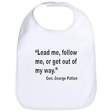 Patton Lead Follow Quote Bib