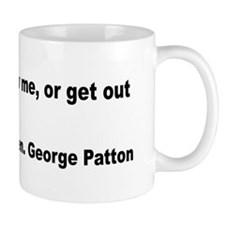 Patton Lead Follow Quote Mug