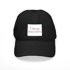 i love edward Baseball Hat