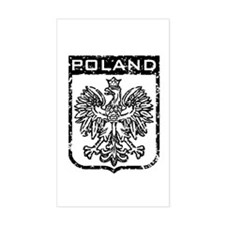 Poland Rectangle Decal