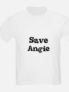 Save Angie Kids T-Shirt