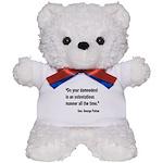 Patton Damnedest Quote Teddy Bear