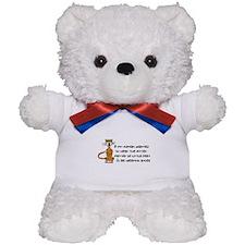 Child-Free Kitty Cat Teddy Bear