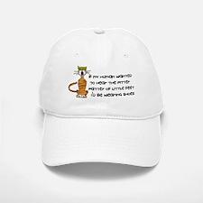 Child-Free Kitty Cat Baseball Baseball Cap