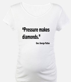 Patton Pressure Makes Diamonds Quote Shirt