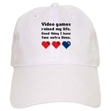 Video Games Ruined My Life. Baseball Cap
