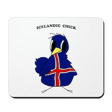 Icelandic Chick Mousepad