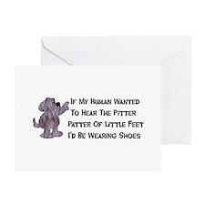 Child-Free Puppy Dog Greeting Card