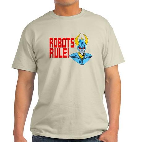 Robots Rule! Light T-Shirt
