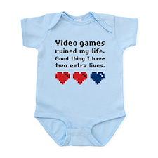 Video Games Ruined My Life. Onesie