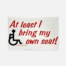 Own Seat Rectangle Magnet