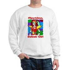 Martian Robot Girl Sweatshirt