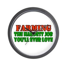 Farming..... Wall Clock