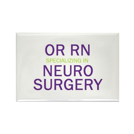 OR RN Neuro Rectangle Magnet (10 pack)