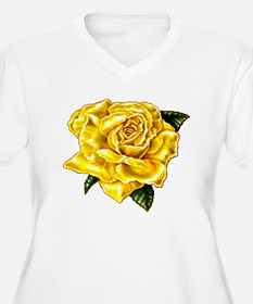 Painted Yellow Rose T-Shirt