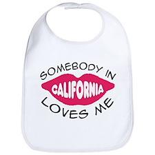 Somebody in California Loves Bib