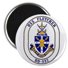 """USS Fletcher DD-992 2.25"""" Magnet (100 pack)"""