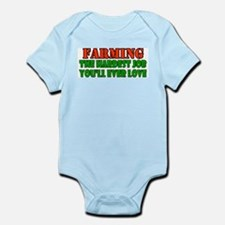 Farming..... Infant Bodysuit