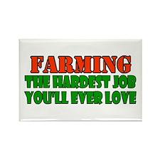 Farming..... Rectangle Magnet