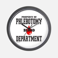 PHLEBOTOMY Wall Clock