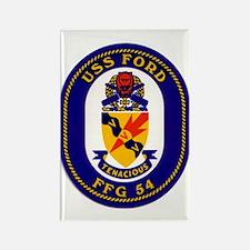 USS Ford FFG-54 Rectangle Magnet