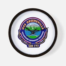 USS Greeneville SSN-772 Wall Clock