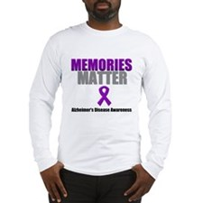 Alzheimers Memories Matter Long Sleeve T-Shirt