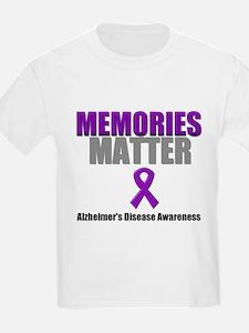 Alzheimers Memories Matter T-Shirt