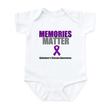 Alzheimers Memories Matter Infant Bodysuit