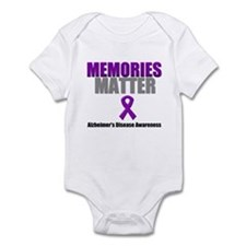 Alzheimers Memories Matter Infant Bodysuit
