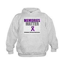 Alzheimers Memories Matter Hoodie