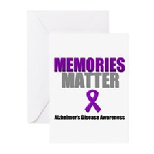 Alzheimers Memories Matter Greeting Cards (Pk of 1